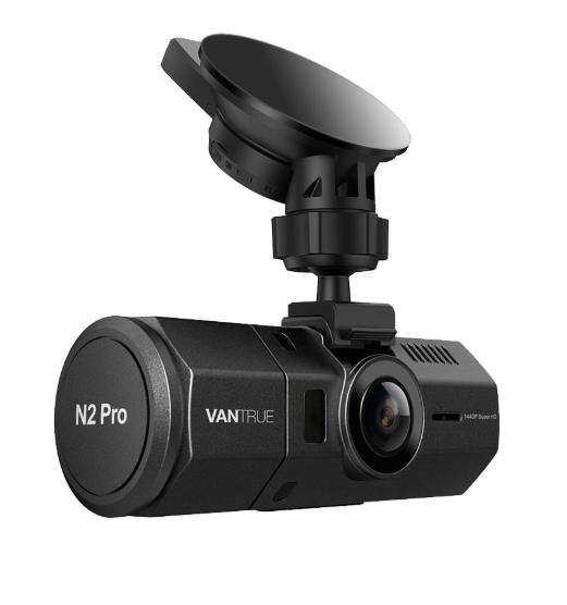 vantrue n2 pro design best truck dash cam