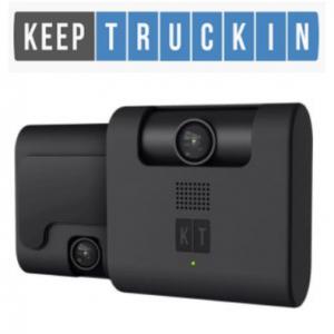 KeepTruckin Design Best truck dash cam